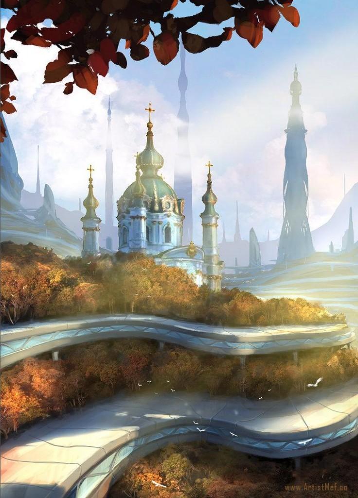 Kiev Futuristic Pt. 3 by M3-f