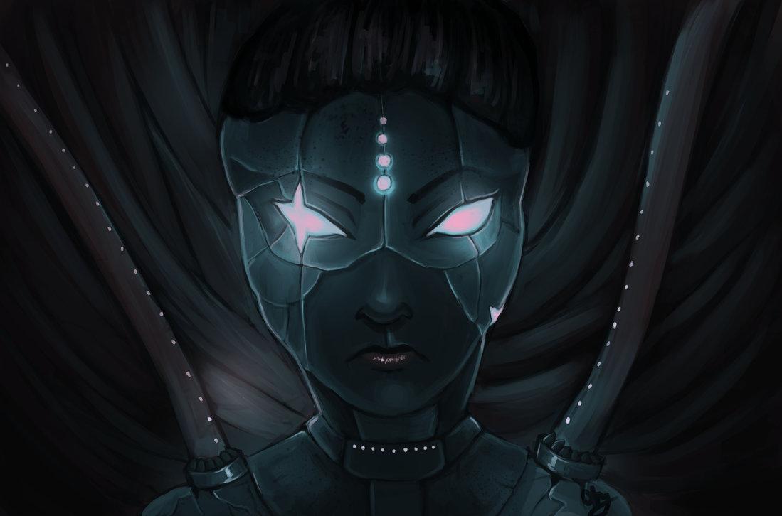 Sci-fi girl thing by Hamzilla15