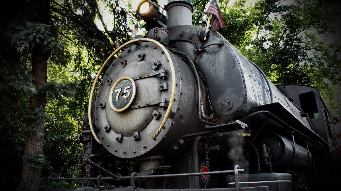 Steam Engine - Flagg Coal Co. #75 by CaelynTek