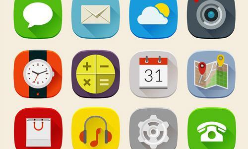 Flat Free Social Media Icons-1