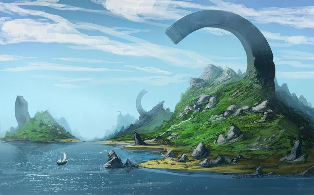 Island by jhtART