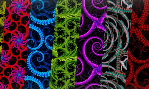 Fractal Patterns Set