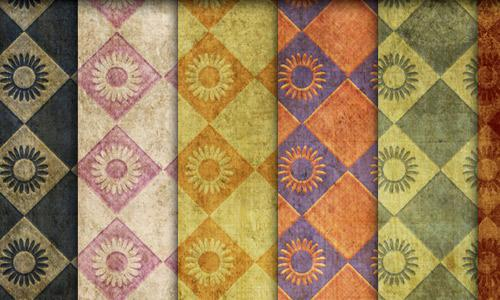 Grungy Photoshop Patterns (7 patterns)