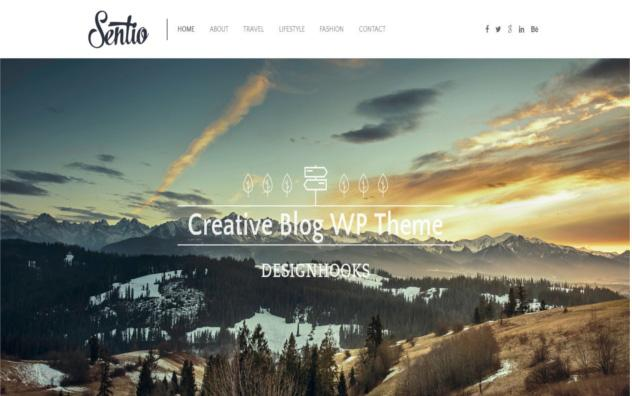 2. Blog WordPress Theme