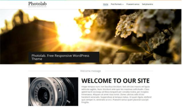 5. Artistic WordPress theme